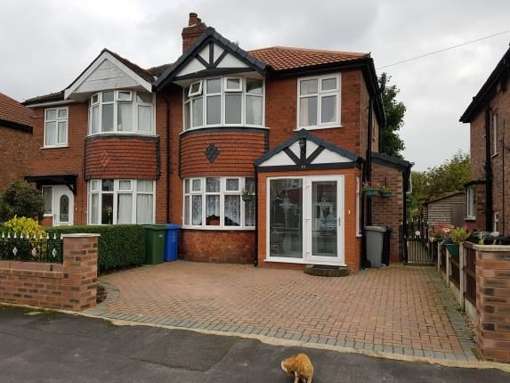 Thumbnail Semi-detached house for sale in Leicester Avenue, Timperley, Altrincham, Greater Manchester