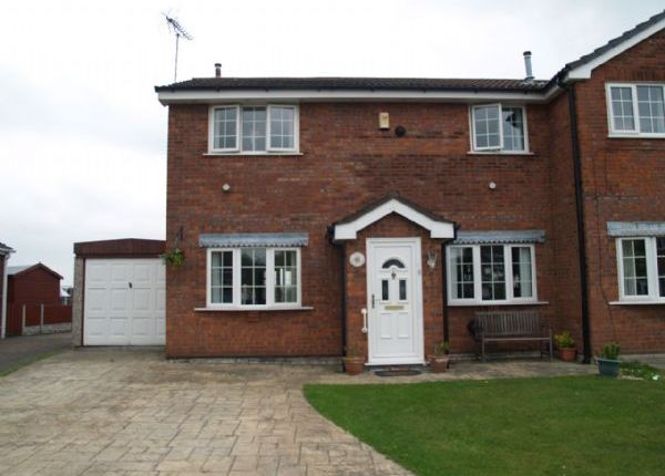 Thumbnail Semi-detached house for sale in Aragon Close, Lydiate, Liverpool