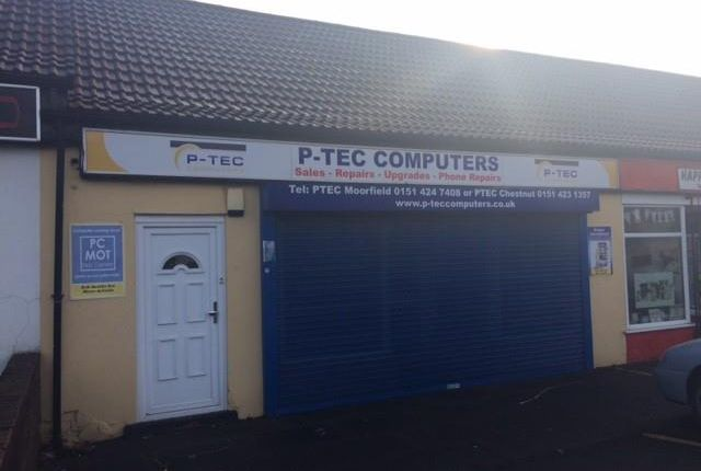 Thumbnail Retail premises to let in 114 Moorfield Road, Widnes, Cheshire