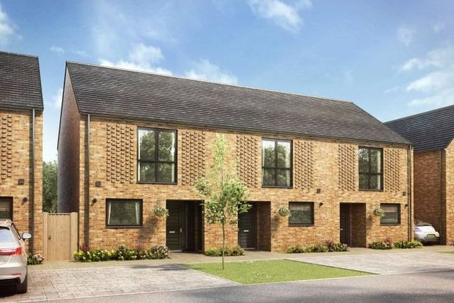 2 bed terraced house for sale in The Cuffley, Trig Point, Stevenage, Hertfordshire SG1