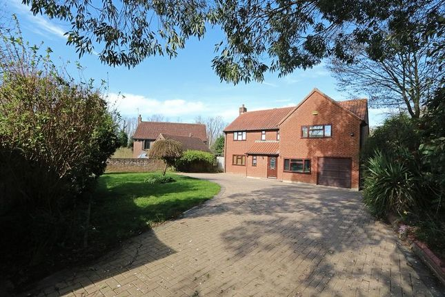 Thumbnail 4 bed detached house to rent in Abbey Road, Bradwell, Milton Keynes