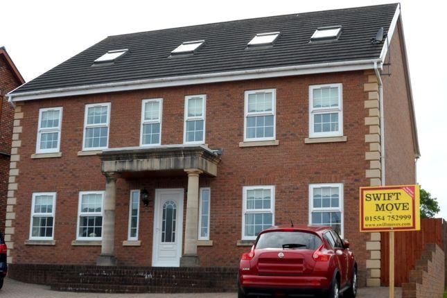 Thumbnail Detached house for sale in Aber Llwychwr, Llangennech, Llanelli, Carmarthenshire