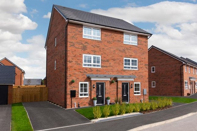 """Thumbnail Semi-detached house for sale in """"Hawley"""" at Hale Road, Liverpool"""