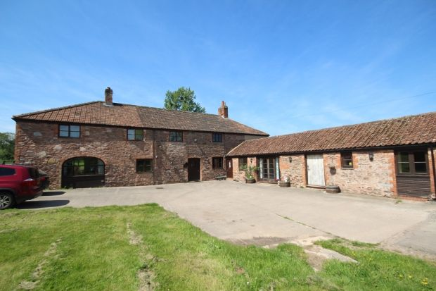 Thumbnail Farmhouse for sale in Cliff Road, North Petherton, Bridgwater