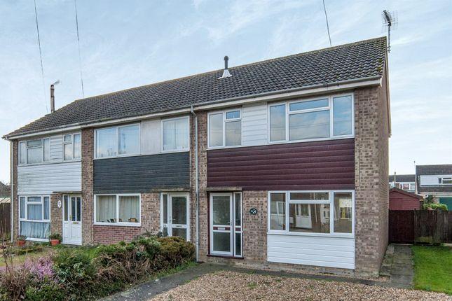 Thumbnail Semi-detached house for sale in Church Close, Roydon, Diss
