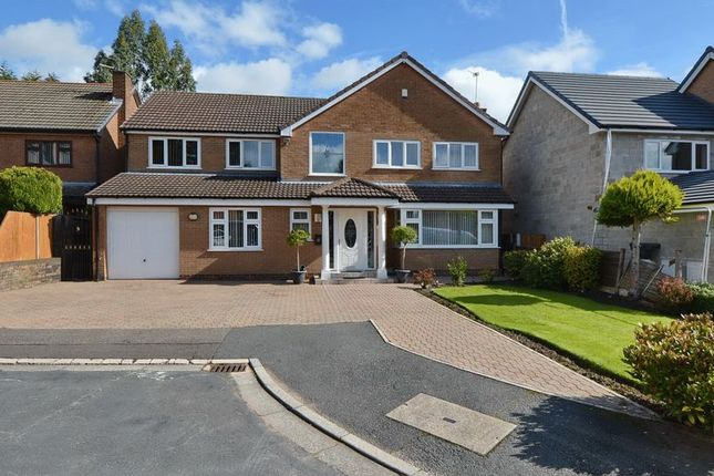 Thumbnail Detached house for sale in Ringley Close, Whitefield, Manchester