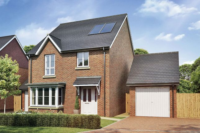 "Thumbnail Detached house for sale in ""The Oxford"" at Sandy Lane, Waltham Chase, Southampton"