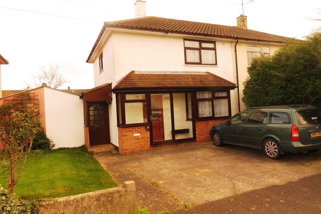 Thumbnail Semi-detached house for sale in Rothbury Road, Chelmsford