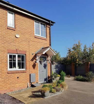 Thumbnail End Terrace House For Sale In The Evergreens Nuneaton