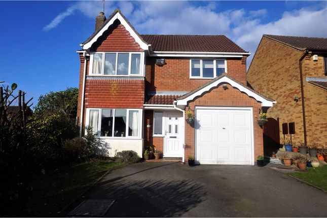 Thumbnail Detached house for sale in Wesley Way, Markfield