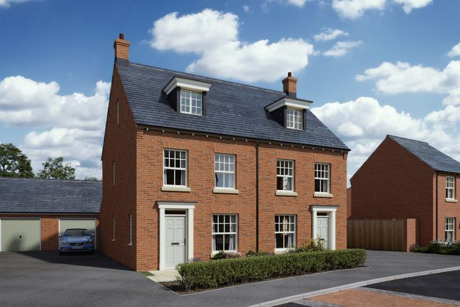 Thumbnail Semi-detached house for sale in Bosworth Grange, Husbands Bosworth, Lutterworth