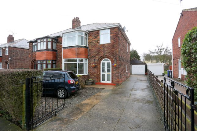 3 bed semi-detached house for sale in Rushy Moor Lane, Askern, Doncaster