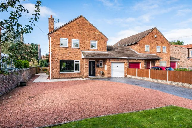 Thumbnail Link-detached house for sale in Back Lane, Hemingbrough, Selby