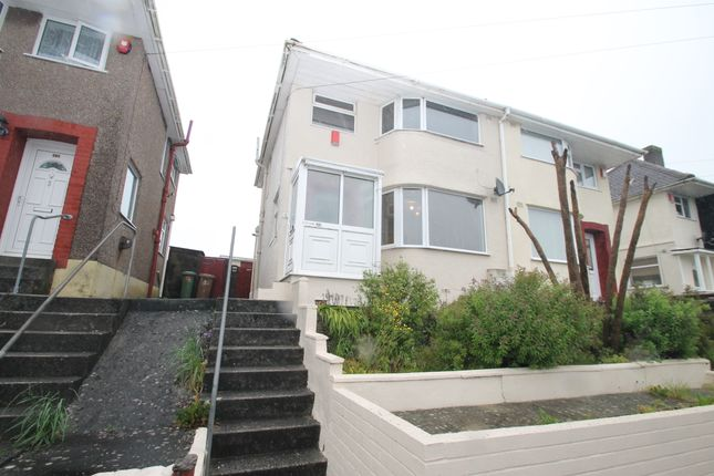 Thumbnail Semi-detached house for sale in Churchway, Plymouth