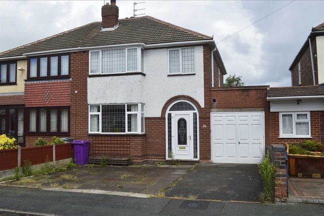 Thumbnail Semi-detached house for sale in Springhill Road, Wednesfield, Wednesfield