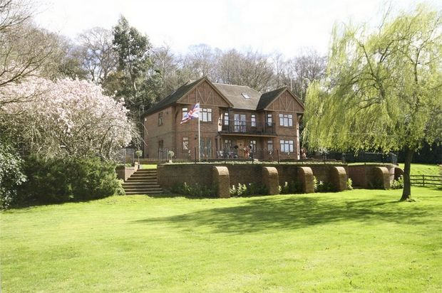 Thumbnail Detached house for sale in Linbrook, Ringwood, Hampshire