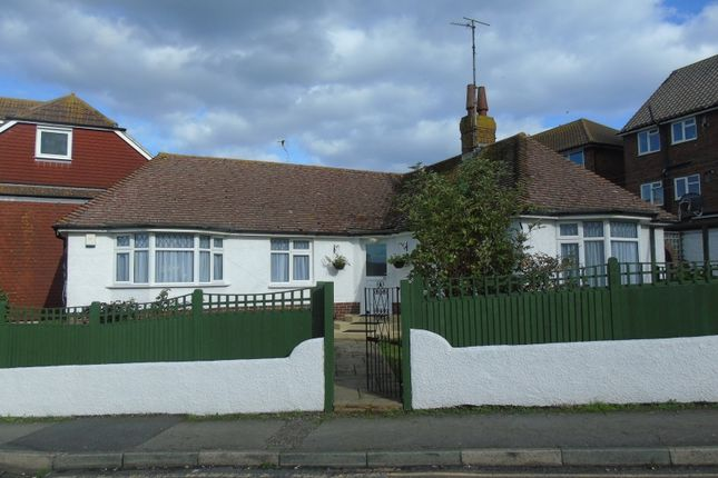 Thumbnail Detached bungalow for sale in Richmond Road, Pevensey Bay, Pevensey