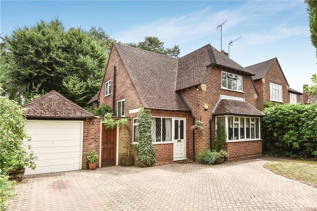 Thumbnail Detached house for sale in Greenways, Fleet, Hampshire