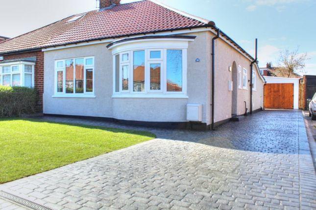 Thumbnail Semi-detached bungalow for sale in The Grove, Middlesbrough