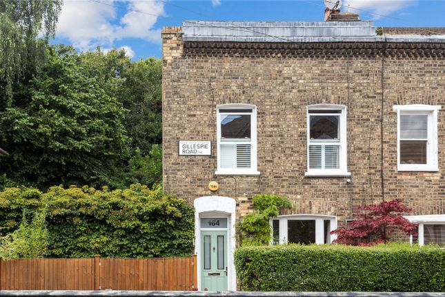 3 bed end terrace house for sale in Gillespie Road, Highbury N5