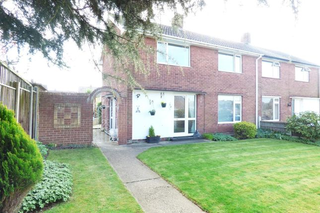 Thumbnail Semi-detached house for sale in Clumber Avenue, Rainworth, Mansfield