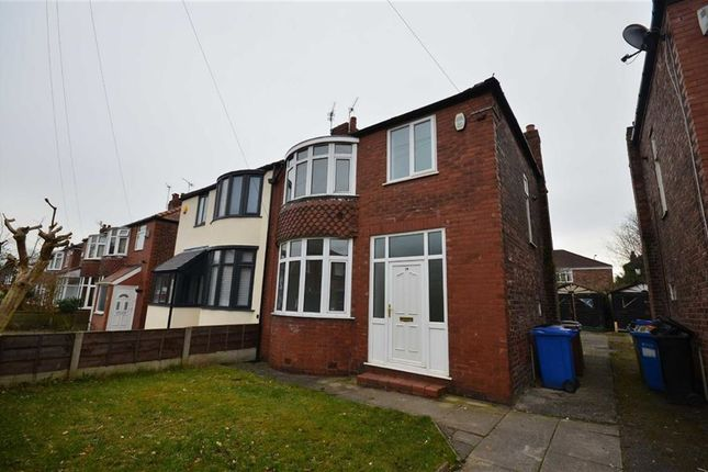 Thumbnail Semi-detached house to rent in Marcliff Grove, Heaton Norris, Stockport