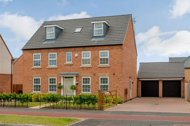 Detached house for sale in Macbeth Approach, Warwick, Warwickshire