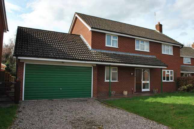 Thumbnail Detached house to rent in Eckford Park, Wem, Shropshire