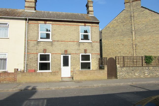 Thumbnail End terrace house to rent in Salisbury Road, Lowestoft