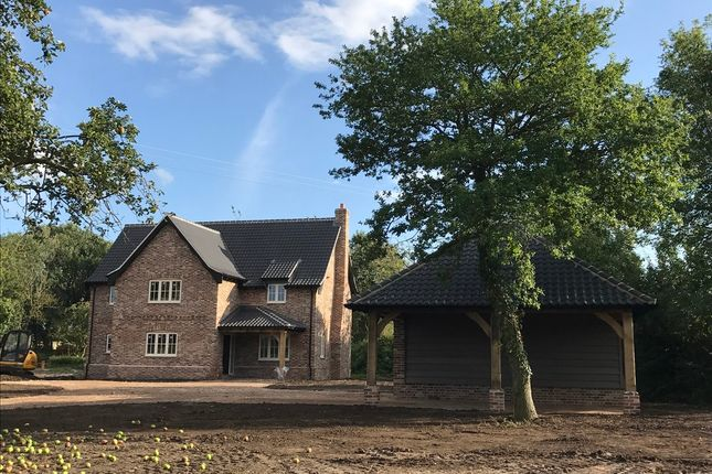 Thumbnail Detached house for sale in Lower Road, Holme Hale, Thetford