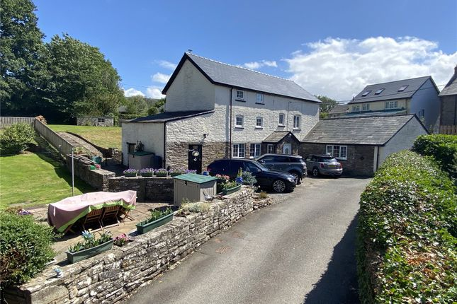 Thumbnail Detached house for sale in Llangorse, Brecon, Powys