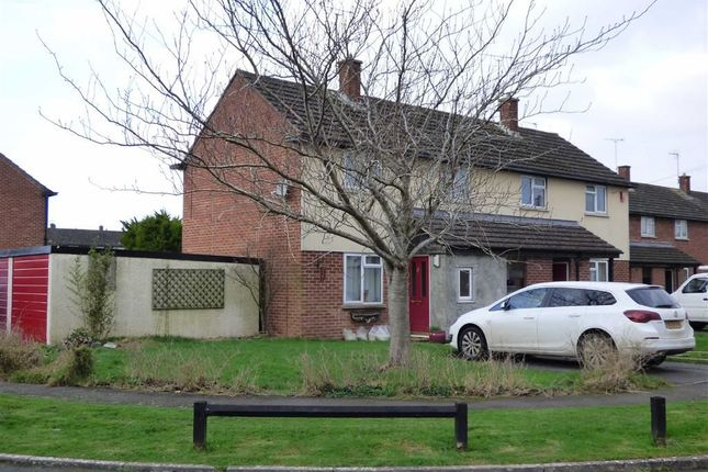 Thumbnail End terrace house for sale in Woolvers Way, West Wick, Weston-Super-Mare