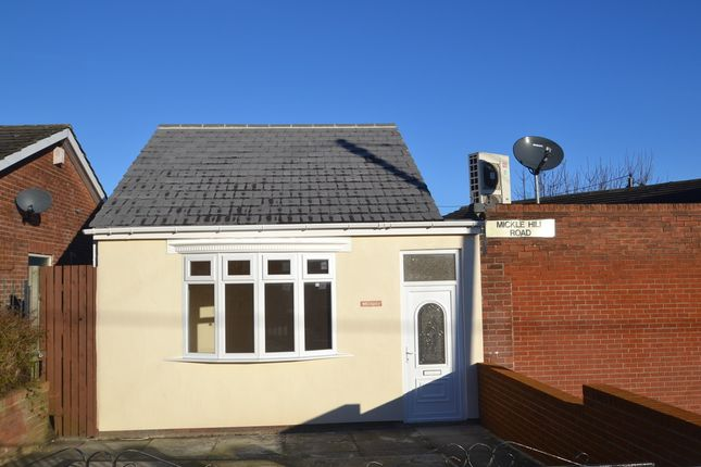 Thumbnail Detached bungalow for sale in Mickle Hill Road, Blackhall Colliery, Hartlepool