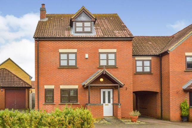Thumbnail 4 bed end terrace house for sale in Ashford Crescent, Grange Farm, Milton Keynes