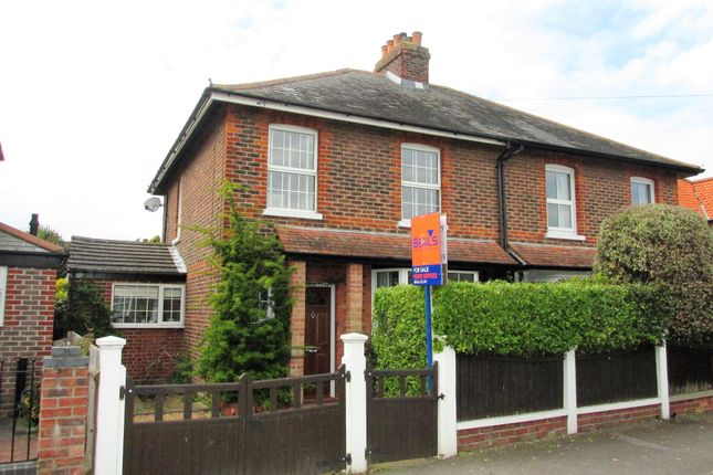 Thumbnail Semi-detached house to rent in Oval Gardens, Gosport
