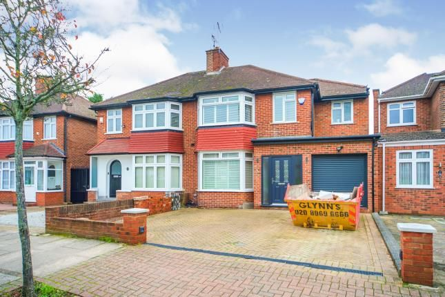 4 bed semi-detached house for sale in Tewkesbury Gardens, Kingsbury, London, Uk NW9