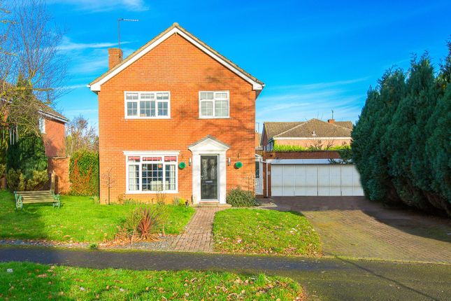 Thumbnail Detached house for sale in Hall Close, Kettering