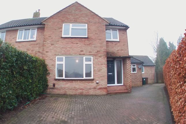 Thumbnail Semi-detached house to rent in Tritton Fields, Kennington, Ashford, Kent
