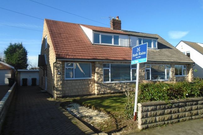 Thumbnail Bungalow to rent in Whitecliffe Crescent, Swillington, Leeds