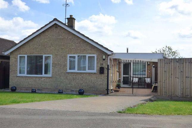 Thumbnail Detached bungalow for sale in Scott Close, Ravensthorpe, Northampton