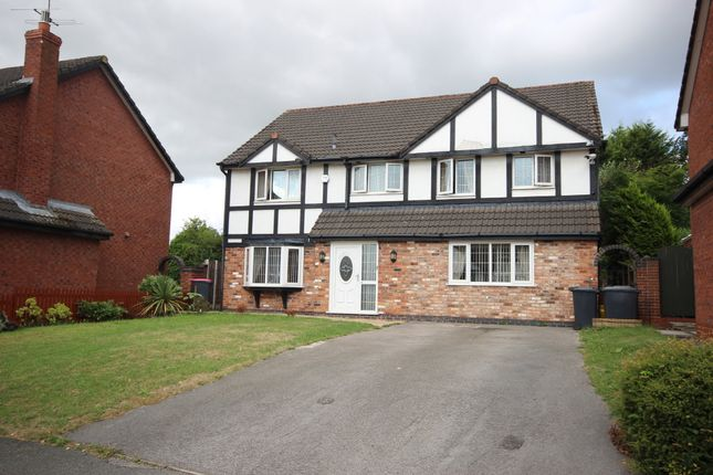 Thumbnail Detached house for sale in Falconwood Chase, Boothstown