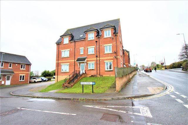 Thumbnail 2 bed flat to rent in Bedale Close, Swallownest, Sheffield
