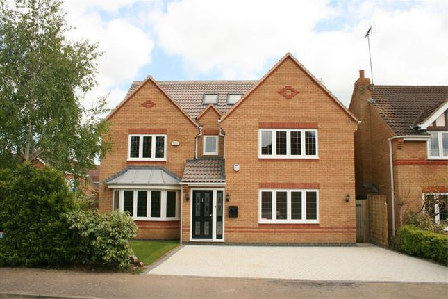 Thumbnail Detached house for sale in Fieldgate Close, Wootton, Northampton