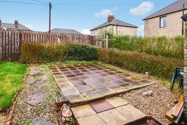 Rear Garden of Castleview Terrace, Haggs, Bonnybridge FK4