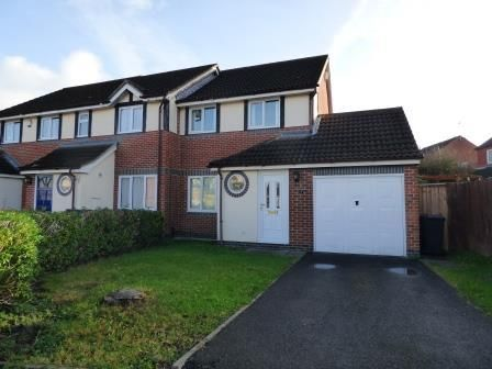 Thumbnail End terrace house to rent in Oatfield, Quedgeley, Gloucester