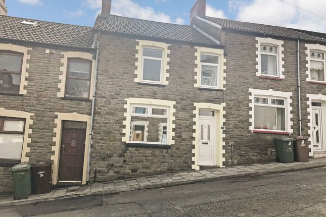 Thumbnail Terraced house to rent in Greenfield Street, Pontlottyn, Bargoed