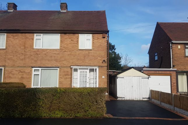 Thumbnail Semi-detached house to rent in Thorndike Avenue, Derby