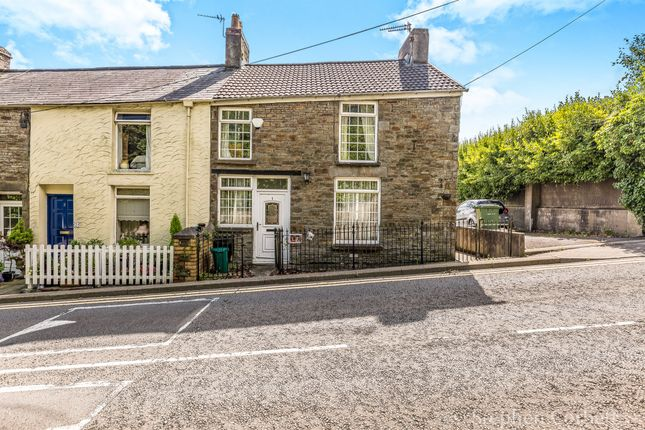 Thumbnail End terrace house for sale in Cross Inn Road, Llantrisant, Pontyclun