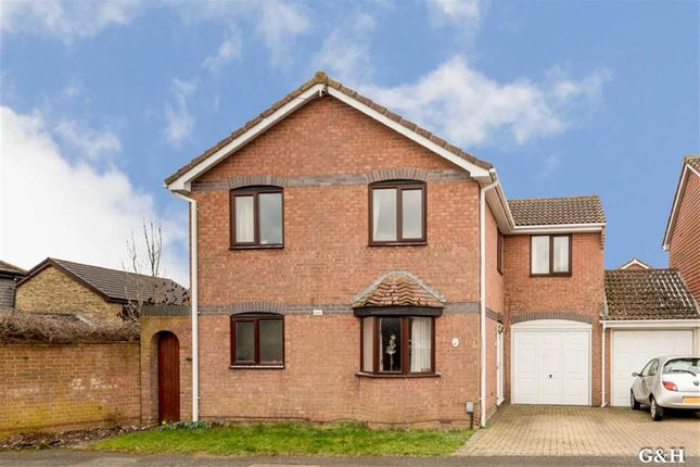 Thumbnail Link-detached house for sale in Evans Road, Willesborough, Ashford