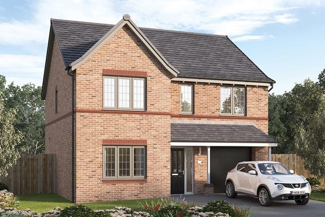 "Thumbnail Detached house for sale in ""The Sudbury"" at Steeplechase Way, Market Harborough"